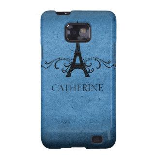 Exemplo do SG S2 do Flourish do francês do vintage Capinha Samsung Galaxy SII