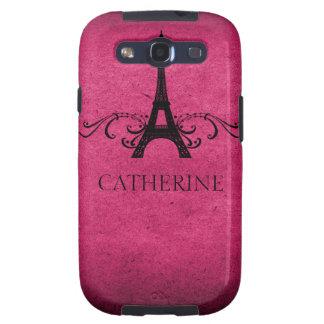 Exemplo do SG S3 do Flourish do francês do vintage Capinhas Samsung Galaxy S3