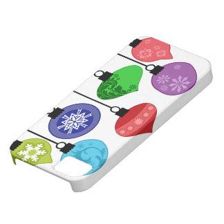 Exemplo dos enfeites de natal capas para iPhone 5