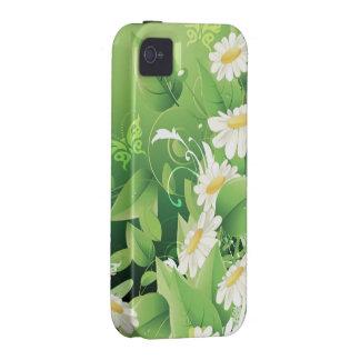 Exemplo floral da case mate da forma 7 capinhas para iPhone 4/4S