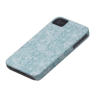 Exemplo floral da case mate do iPhone 4/4S Capinhas iPhone 4