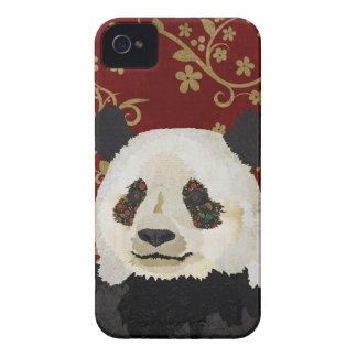 Exemplo floral da panda capinhas iPhone 4