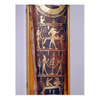 Exemplo pintado e dourado da mamã de Artemidorus Cartão Postal