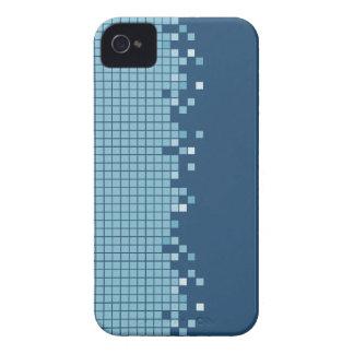 Exemplo retro do geek iPhone4/4S dos pixéis azuis