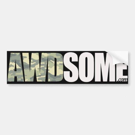 exército awdsome adesivo