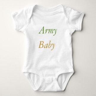 Exército, bebê tshirt