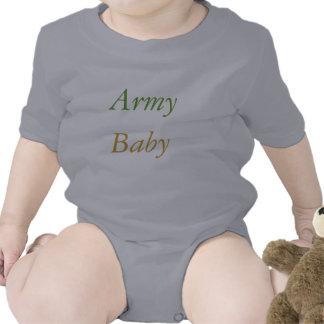 Exército, bebê macacãozinho para bebês