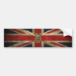 Exército britânico adesivo para carro