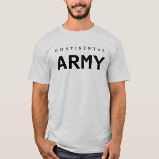 Exército continental camiseta