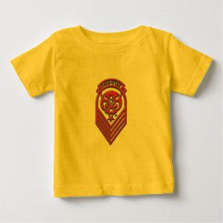 Exército da estrela da dor do bebê camiseta para bebê