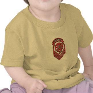 Exército da estrela da dor do bebê tshirt