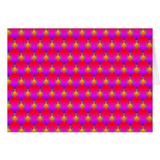 Exército do cartão do zen - rosa elétrico
