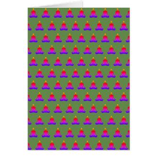 Exército do cartão do zen - verde