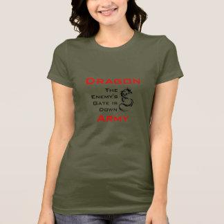 Exército do dragão/camisa mantra de Ender Camiseta