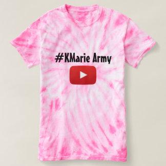 Exército do #KMarie Camiseta
