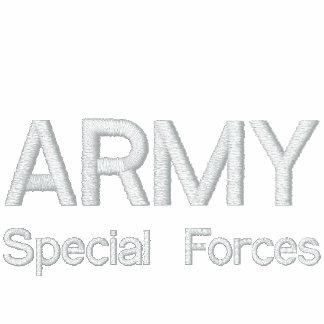 EXÉRCITO, forças especiais Agasalho Track De Lã Bordado