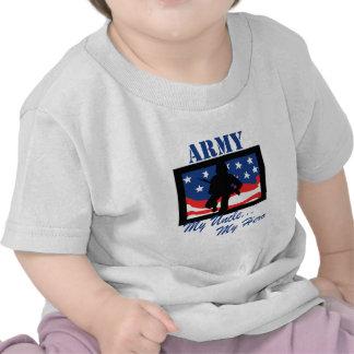 Exército meu tio Meu Herói Camiseta