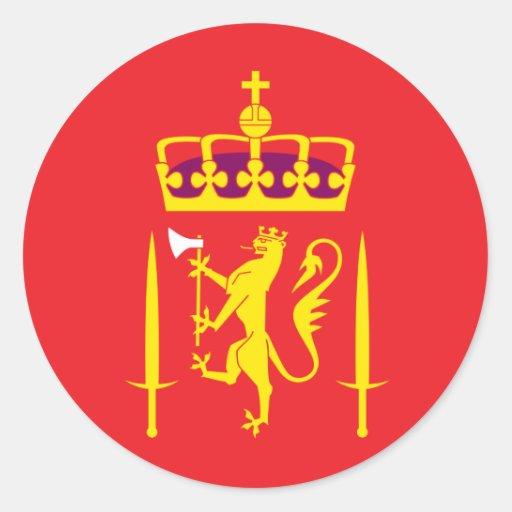 Exército norueguês adesivo