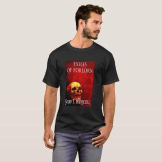 Exilados do t-shirt desesperado dos homens camiseta