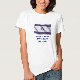Existência da camisa de Israel T-shirts