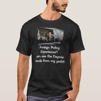 Experiência da política externa? camiseta