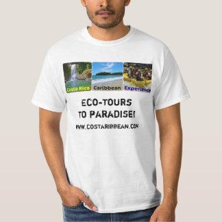 Experiência das caraíbas de Costa Rica Tshirt