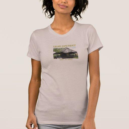 Experiência do safari: O T das mulheres Camiseta