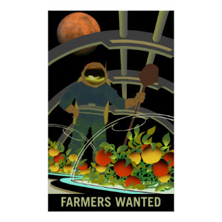 Exploradores de Marte - os fazendeiros quiseram o Poster