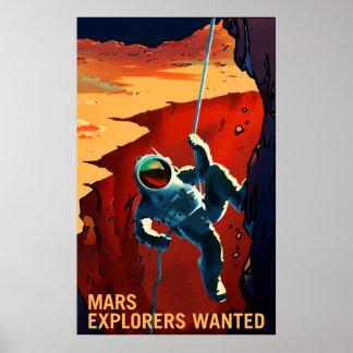 Exploradores de Marte queridos - poster do