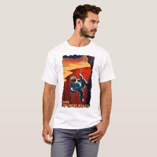 Exploradores de Marte queridos - t-shirt do Camiseta