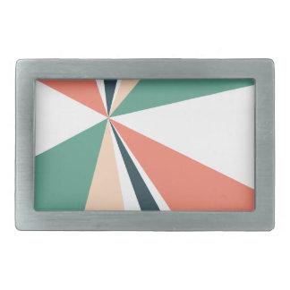 Explosão de cor retro da arte geométrica moderna