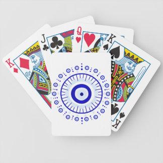 Explosão do olho mau jogos de cartas