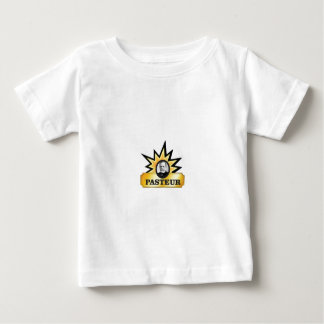 explosão dourada de LP Camiseta Para Bebê