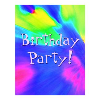 Explosion Birthday Party II Custom Flyer
