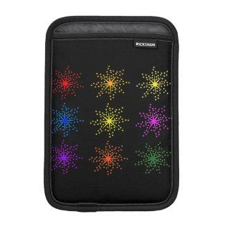 Explosões cómicas coloridas capa iPad mini