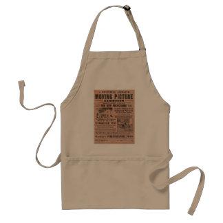 Exposição da imagem movente do vintage avental