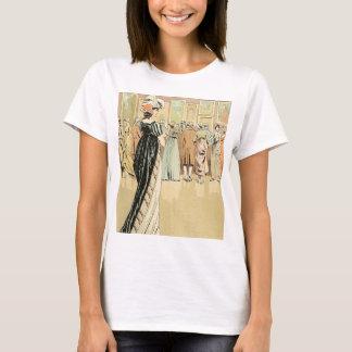 Exposição da imagem no salão de beleza 1800 camiseta