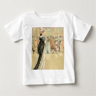Exposição da imagem no salão de beleza 1800 camiseta para bebê