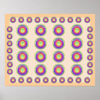 Exposição roxa santamente da LUA - Transfomations Poster