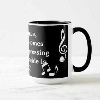 Expressando a caneca Inexpressible da música