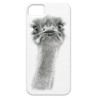 Expressão sk053 da avestruz capa barely there para iPhone 5