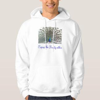 Expresse o hoodie do adulto da beleza moleton com capuz