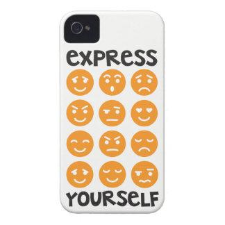 Expresse-se capa de telefone