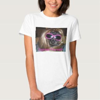 Expresse-se T Camisetas