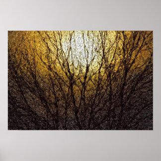 Expressionism de Digitas: Luz solar nos ramos [S] Pôster