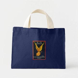Expresso de ar através da agência expressa da sacola tote mini