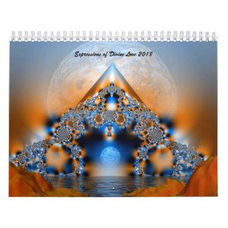 Expressões do calendário divino do amor 2018