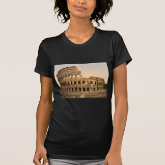 Exterior do coliseu, clássico Phot de Roma, Italia Tshirts