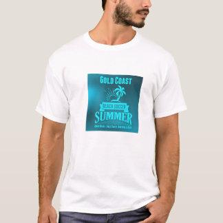 Extra grande do t-shirt do futebol da praia camiseta