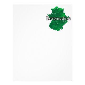 Extremadura Papel Timbrado